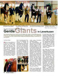 Bericht zur BZS 2014 in Starke Pferde (Seite 1/2)